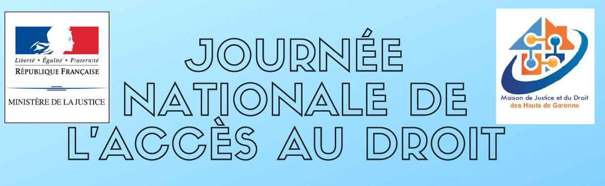 Journée Nationale de l'Accès au Droit – 24 mai 2019